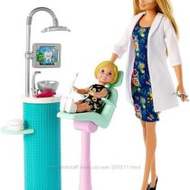 Барби я могу быть стоматолог 2019 Careers Barbie Dentist Doll & Playset