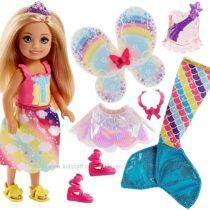 Кукла Barbie Dreamtopia Rainbow Cove Chelsea Волшебное перевоплощение Челси