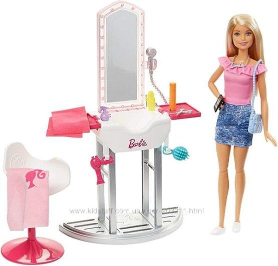 Набор Барби Салон красоты парикмахерская Блондинка Barbie Style Salon