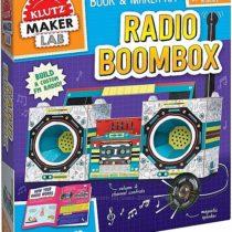 Творческий набор Создай свое Радио Бумбокс KLUTZ Maker Lab Radio Boombox