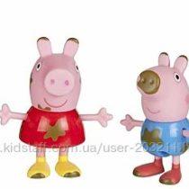 Набор фигурок Семья свинки Пеппы 4 фигурки Peppa Pig Muddy Puddles Family