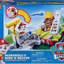 Машина-трансформер Маршалла Щенячий Патруль Paw Patrol Marshall Ride Rescue