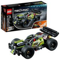 Lego Technic БУМ Зеленый гоночный автомобиль 42072