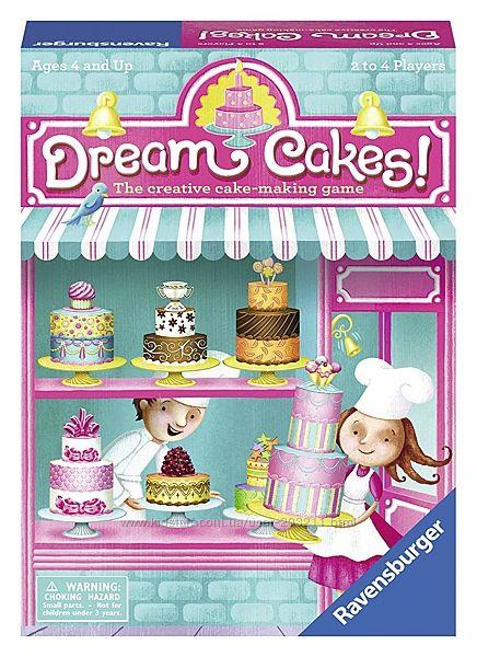 Детская настольная игра Замечательные Тортики Dream Cakes Ravensburger
