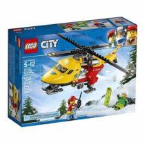 Конструктор LEGO Sity Вертолет скорой помощи 60179 190 деталей