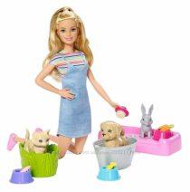 Барби купай питомцев Barbie Play &acuteN´ Wash Pets Doll & Playset, Multicolor