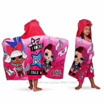 Полотенце ЛОЛ L. O. L. Surprise Soft Cotton Hooded Bath Towel Wrap