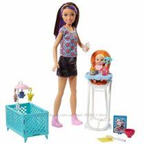 Барби Скиппер няня Кормление Barbie Skipper Babysitters Inc. Doll and Feedi