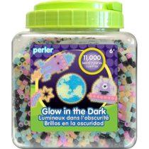 Термомозаика Перлер, светится в темноте 11000 бусин, Perler Fun Fusion Fuse