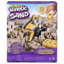 Набор кинетичесского песка с бульдозером Kinetic Sand, Dig & Demolish Truck