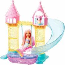 Игровой набор кукла Barbie Челси русалочка и замок Barbie Chelsea mermaid