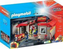 Плеймобил Пожарная станция PLAYMOBIL Take Along Fire Station