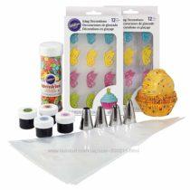 Набор для украшения капкейков Wilton Butterflies Cupcake Decorating Kit