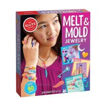 Отличный набор для создания украшений Klutz Melt & Mold Jewelry Craft Kit