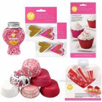 Набор для украшения капкейков Wilton Valentine&acutes Day Glitter Cupcake
