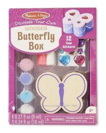 Шкатулка – Бабочка оформительский набор Melissa & Doug Butterfly Box