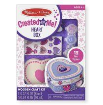 Шкатулка – Сердце оформительский набор Melissa & Doug Heart Box