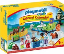 Адвент календарь PLAYMOBIL 1. 2. 3 Advent Calendar – Christmas in The Fores