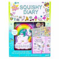 Дневник сквиш Единорог Just My Style Squishy Diary by Horizon Group USA