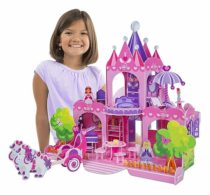 Детский 3D пазл Розовый замок Pink Palace 3D Puzzle ТМ Melissa & Doug