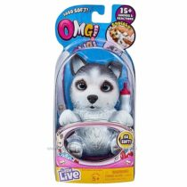 OMG Pets Soft Squishy Puppy интерактивная собачка сквиш, Хаски