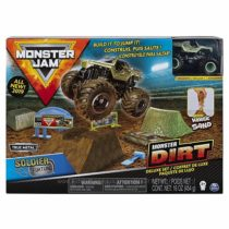 Игровой набор Monster Jam Dirt Deluxe Set Soldier Fortune 164