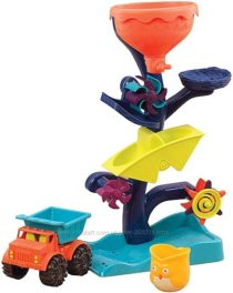 Игрушка для пляжа Баттат B. toys by Battat Owl About Waterfalls Water Wheel