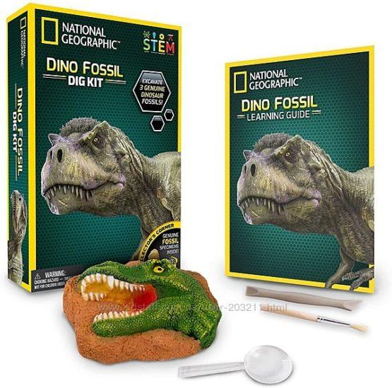 Научный STEM набор Останки динозавра от NATIONAL GEOGRAPHIC