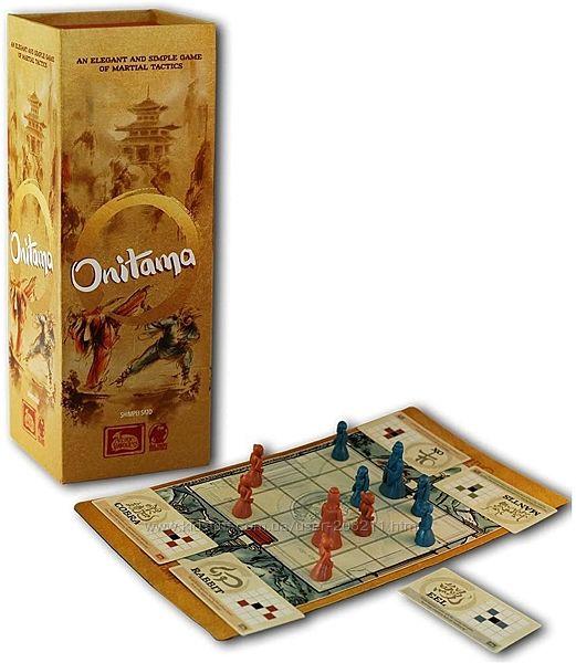Настольная стратегическая игра Onitama