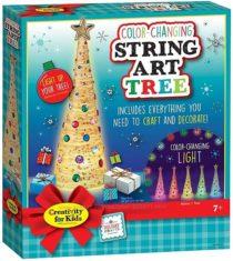 Творческий набор стилиз. Елка Faber-Castell Color Changing String Art Tree