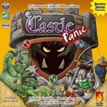 Настольная игра Castle Panic и дополнение The Wizard&acutes Tower