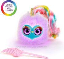 Интерактивная игрушка Pomsies Lumies единорог Lets Learn Colors
