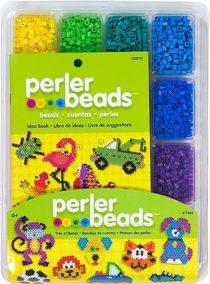 Термомозаика Перлер 4000 шт разных цветов. Perler Assorted Fuse Beads Tray
