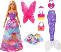 Кукла Барби Сказочное Перевоплощение Mattel Barbie Dreamtopia Dress Up Doll