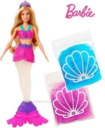 Кукла Барби русалочка со слаймом Barbie Dreamtopia Slime Mermaid Doll