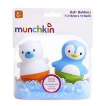 Munchkin игрушки для ванны поплавки Медведь и Пингвин Bath Bobbersот 6 мес