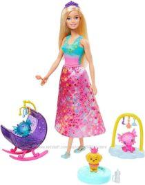 Барби Дримтопия сказочный дракон Barbie Dreamtopia Dragon Nursery