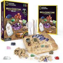 Геологические раскопки Камни NATIONAL GEOGRAPHIC Mega Gemstone Dig Kit