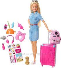 Кукла Барби путешественница Barbie Travel Doll & Accessories