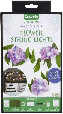 Творческий набор от Крайола Crayola DIY String Lights Kit, Flower Lights