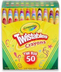 Выкручивающиеся карандаши мини от Крайола Crayola Twistables 50 шт