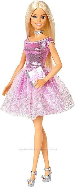 Barbie Happy Birthday Doll Барби в блестящем платье, День Рождение.