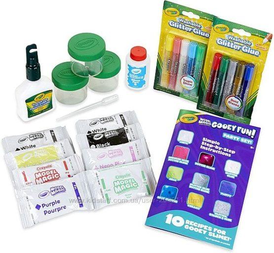 Крайола набор для создания слаймов Crayola Model Magic Gooey Fun Slime