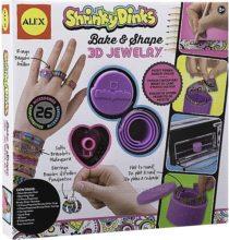 Набор для создания объемных украш. Shrinky Dinks Bake and Shape 3D Jewelry