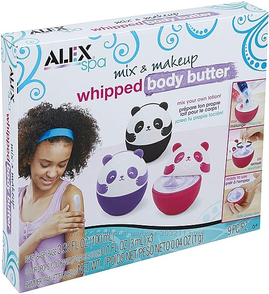 Создай крем-масло для тела Алекс Alex Spa Mix & Makeup Whipped Body Butter