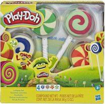 Игровой набор Play-Doh Lollipop. Баночка с пластилином в форме леденца