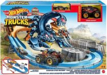 Моторизированный трек Hot Wheels Жало Скорпиона Monster Trucks Scorpion