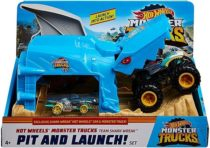 Hot Wheels Monster Truck Pit & Launch Shark Акула Монстер Трак GKY03