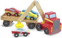 Магнитный деревянный автопогрузчик Magnetic Car Loader Melissa & Doug