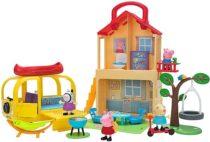 Игровой набор Домик Свинки Пеппы с Кемпером Peppa Pig Pop n´ Playhouse and